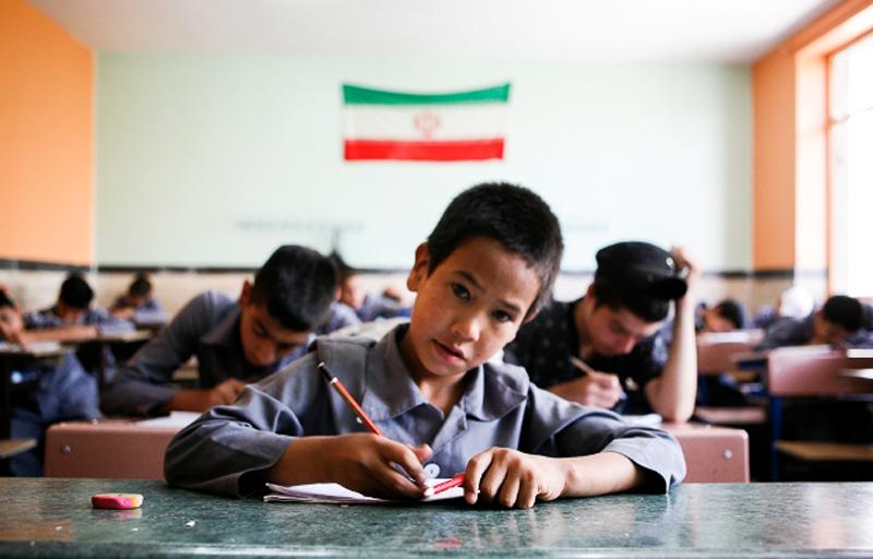 ثبت نام از فرزندان لازم التعليم افغانستاني